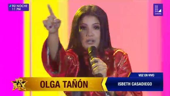 Venezolana sorprende con imitación de Olga Tañón (Foto: Latina)