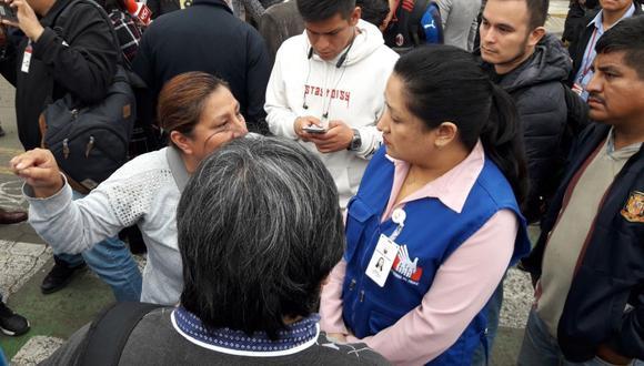 El último lunes ocurrió un enfrentamiento entre serenos de Independencia y San Martín de Porres. (Defensoría del Pueblo)