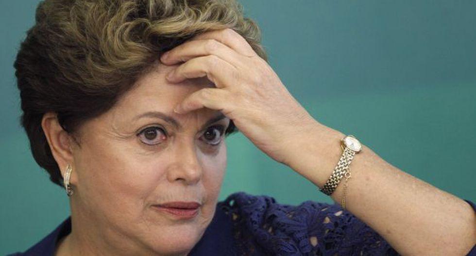 Dilma Rousseff en la recta final (Efe).
