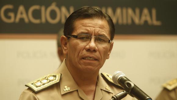 General Max Iglesias es el nuevo comandante general de la Policía Nacional. (Foto: GEC)