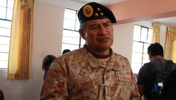 Leonel Cabrera fue promoción en el Ejército de Adrián Villafuerte. (Perú21)