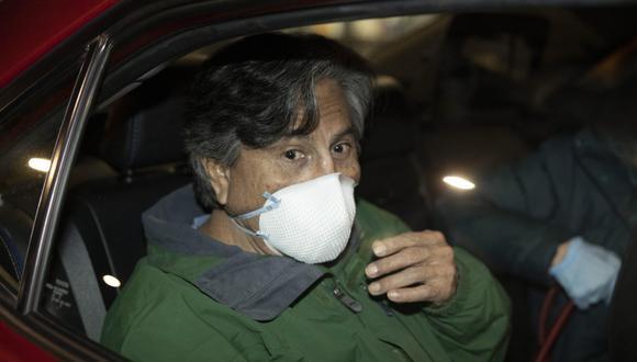 Anteriormente, la defensa de Alejandro Toledo ya había logrado retrasar el inicio del juicio de marzo -fecha en la que estaba inicialmente previsto su comienzo- a junio. (Foto: PETER DASILVA / EFE)