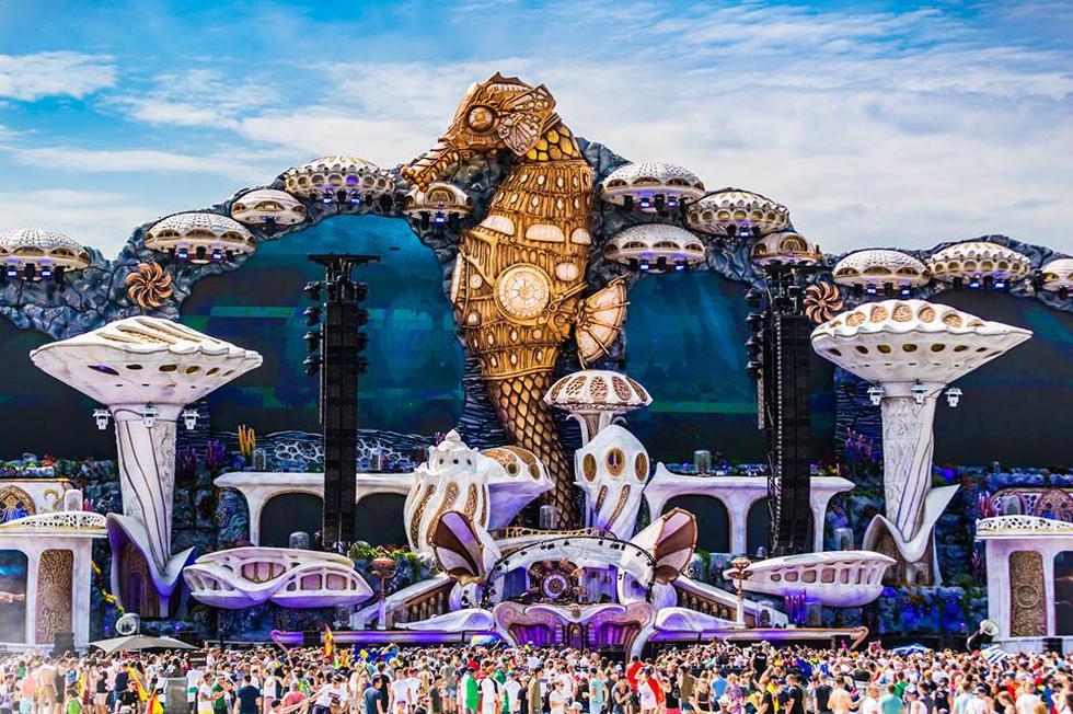 Sigue EN VIVO la transmisión del segundo día de Tomorrowland: 'The Story of Planaxis'. (Tomorrowland/Facebook)