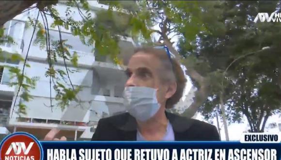 Jaime Cillóniz dio una entrevista a ATV y habló sobre lo ocurrido con la actriz Danna Ben Haim.