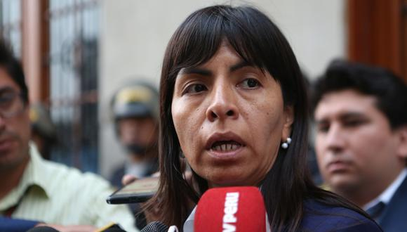 Loza indicó que no puede defender una reducción del plazo de la prisión preventiva que cumple Keiko Fujimori puesto que lo que exige es su liberación. (Foto: GEC)