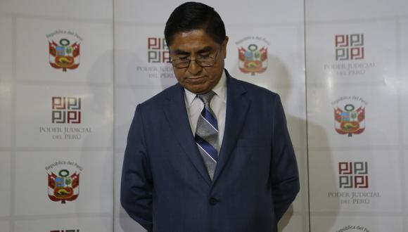El exjuez supremo César Hinostroza consideró que, de ser extraditado al Perú, no tendrá un proceso justo. (GEC).