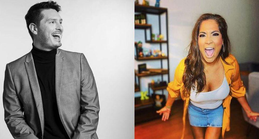 Katia Palma figura como jurado de 'Yo soy' de Latina, mientras que Christian Rivera está en la conducción de 'Mi famoso puede' de la misma televisora. (Composición/Instagram)