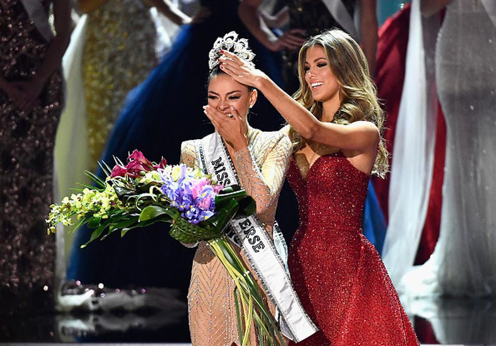 Reina sudafricana se alzó con la corona del Miss Universo. (Gettyimages)