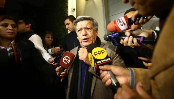 César Acuña sobre inclusión de APP en gabinete: PPK tomará la decisión entre hoy y mañana. (Luis Centurión)