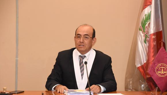 Juez Víctor Raúl Zúñiga Urday.