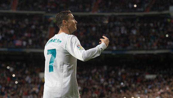 Cristiano Ronaldo lleva 2 goles en 13 partidos de la liga española. (Getty Images)