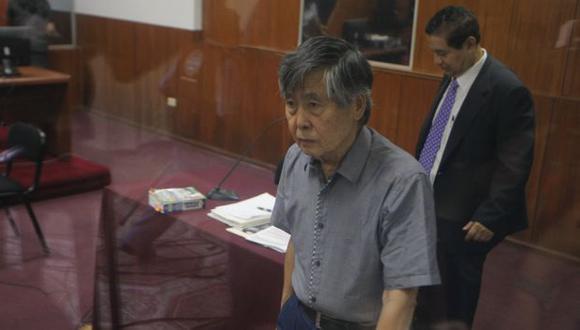 Fujimori: 'Chile no autorizó juzgarme por delitos de lesa humanidad'. (Mario Zapata)