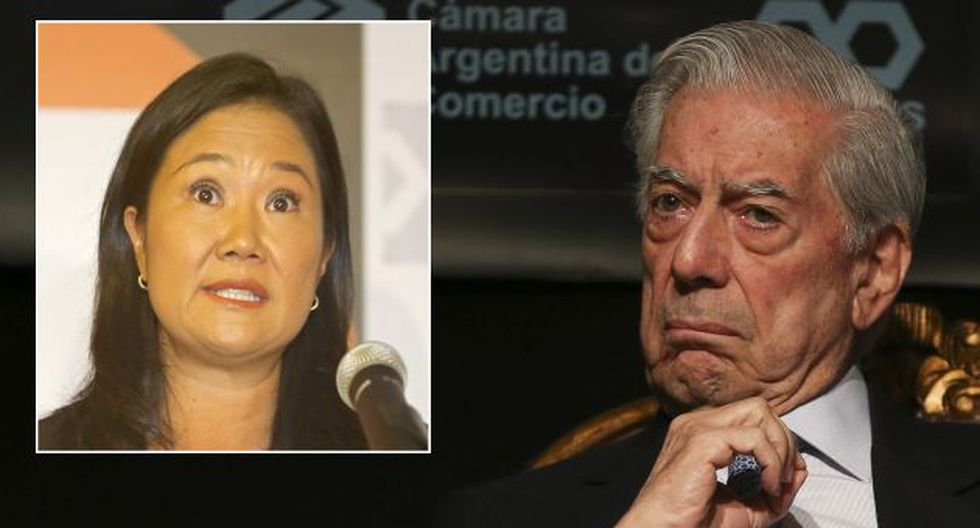 Vargas Llosa cree que Keiko Fujimori, si se convierte en presidenta, no tendría necesidad de realizar un golpe de Estado. (EFE/El Comercio)