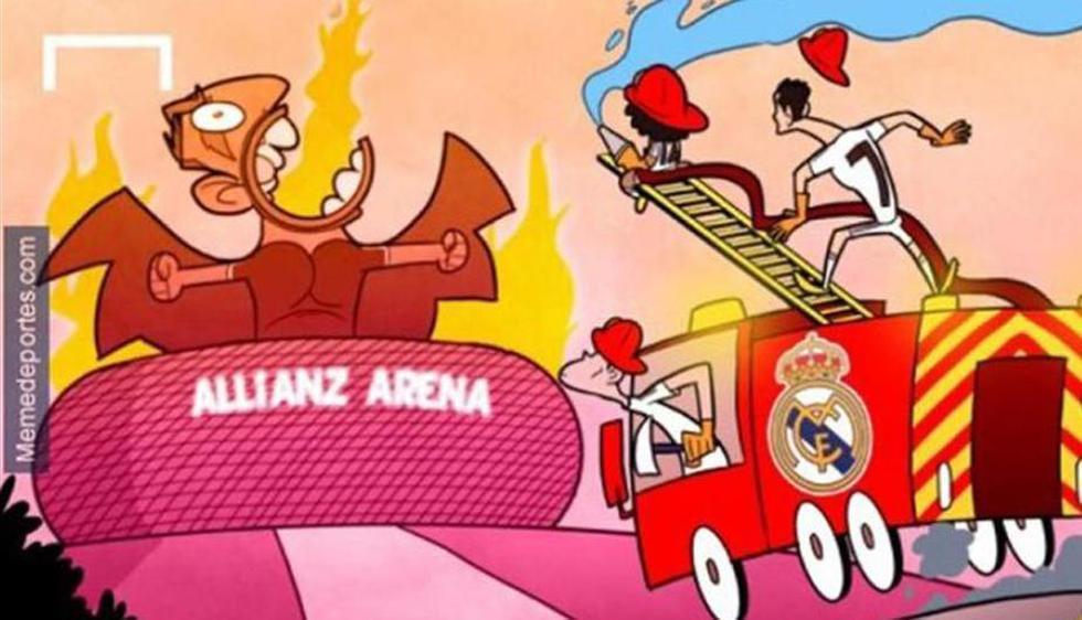 Real Madrid a un paso de la final de la Champions no se libra de los memes. (Difusión)