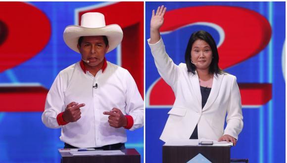 La segunda vuelta electoral entre Pedro Castillo y Keiko Fujimori será el domingo 6 de junio. (GEC)