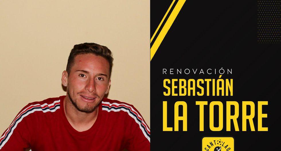Sebastián La Torre confirmó que se queda en Cantolao. (Foto: Twitter @ACantolao)