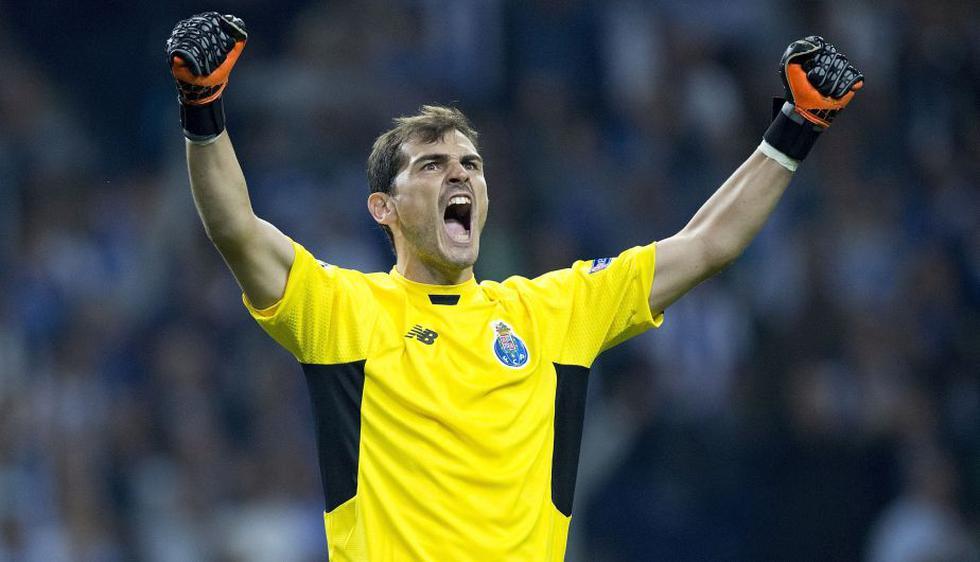 1. Iker Casillas, 175 encuentros UEFA. (Getty)