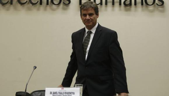 Daniel Figallo aún no ha aclarado su participación en cuestionados otorgamientos de reducciones de condenas. (Mario Zapata)
