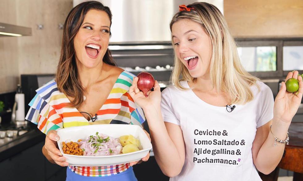 La ex pareja de Paolo Guerrero anunció en Instagram que tendría María Pía Copello para enseñar a preparar ceviche a todos sus fanáticos. (Foto: Instagram)