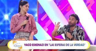 Estás en todas: Yaco Eskenazi sorprende a Natalie Vértiz por su cumpleaños
