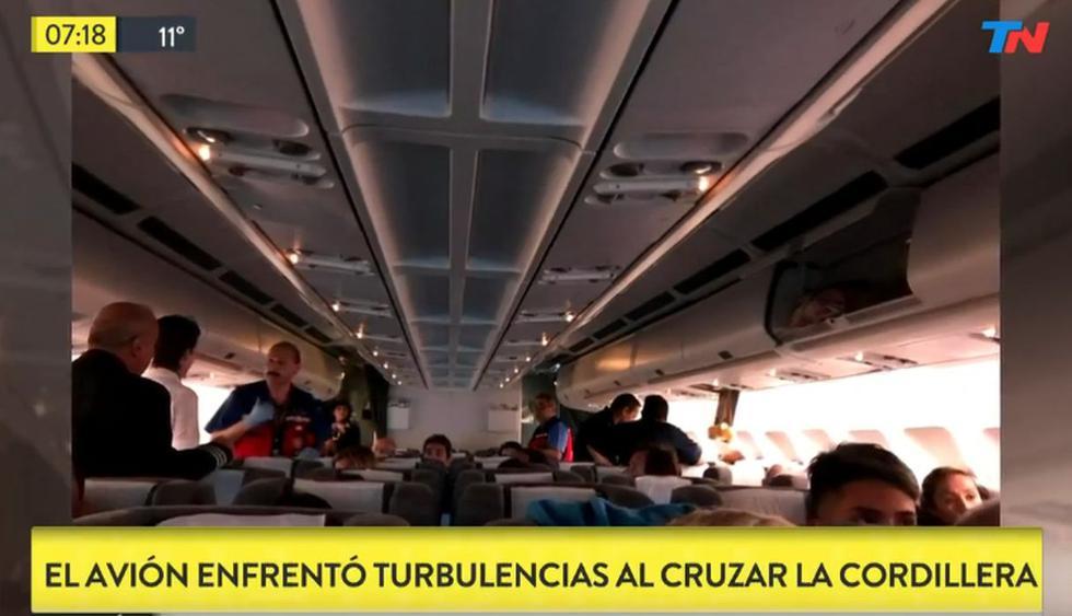Vuelo de Miami a Buenos Aires deja 9 heridos por fuertes turbulencias. (Foto: Captura de video)
