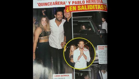 Alessandra Fuller niega 'saliditas' con Pablo Heredia. (REVISTA MAGALY TEVE)