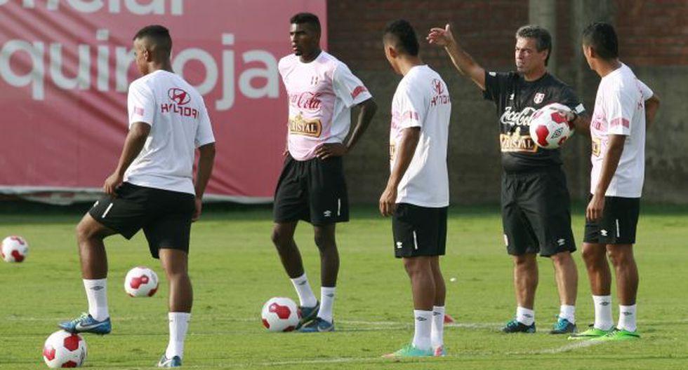 Pablo Bengoechea apunta a que la selección peruana juegue a otro ritmo. (Perú21)