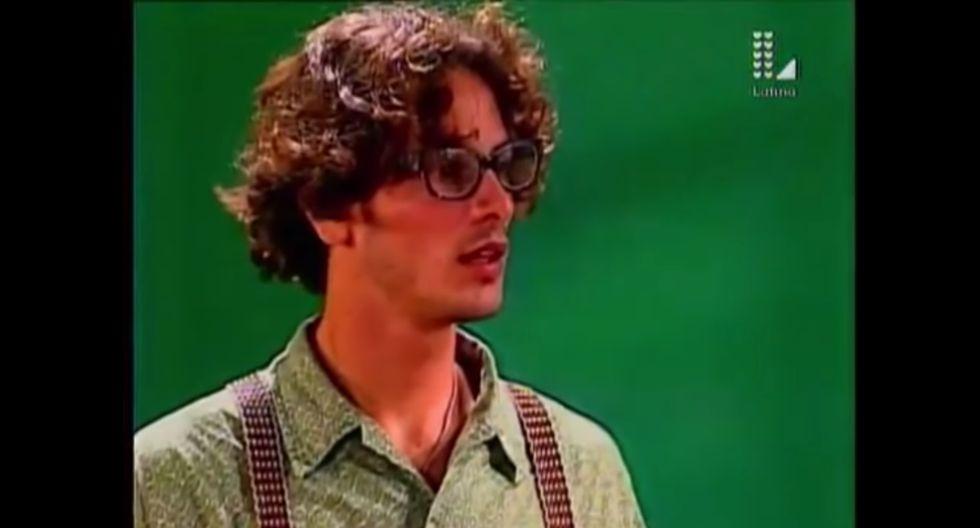 Germán Arrese tuvo que surcar las alocadas ocurrencias de sus alumnas en la telenovela Torbellino. (Foto: Captura de YouTube)