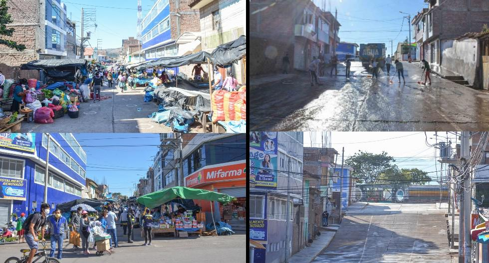 Ayacucho: Jirón Chávez Gavilán quedó despejado luego de 30 años. (Foto: Municipalidad Provincial de Huanta)