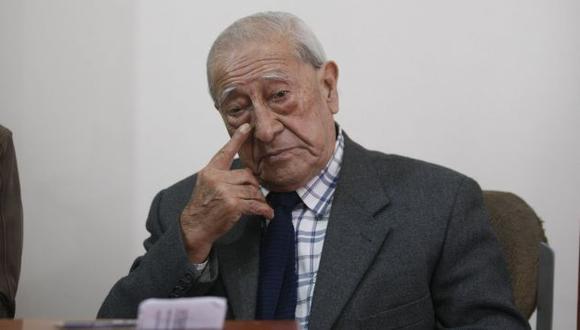 Isaac Humala no podrá postular como candidato a la segunda vicepresidencia por Siempre Unidos. (Anthony Niño de Guzmán)