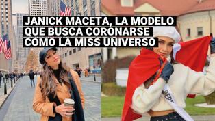 Miss Universo: Conoce a Janick Maceta, la modelo peruana, que buscasuceder aZozibini Tunzi