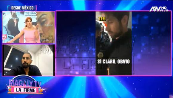 Frank Valenzuela se pronunció tras agresiones de Eleazar Gómez a su hermana Stephanie Valenzuela. (Foto: Captura de video)