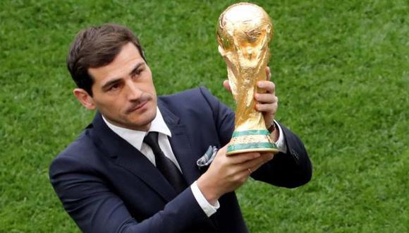 Casillas quedó disgustado con el mal uso del VAR en el Mundial Rusia 2018. (AFP)