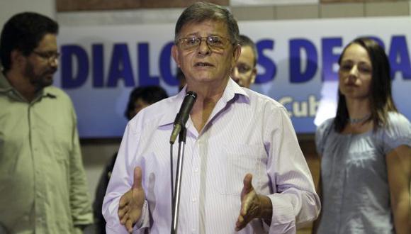 Ricardo Téllez, alias de Rodrigo Granda, anunció el acuerdo, sin dar más detalles. (AP)