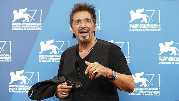 Pacino presentó su nueva película 'The Humbling'. (Reuters)