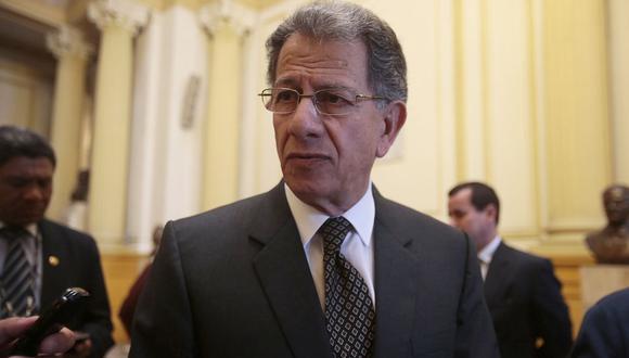 El ex presidente del TC, Oscar Urviola, dijo que el Congreso sería responsable de que se bloquee la bicameralidad en el referéndum. (Foto: USI)