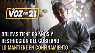Juan Carlos Oblitas sobre confinamiento a mayores