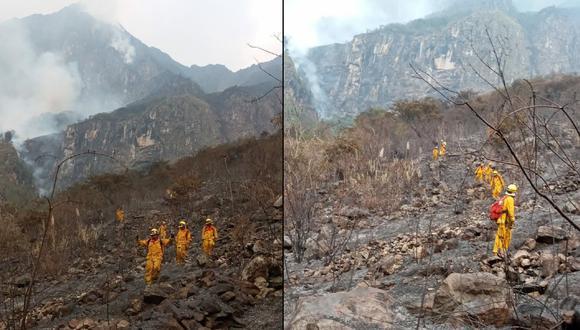 Incendio que duró dos días en Santuario Histórico de Machu Picchu logró ser controlado (Foto: Sernanp)