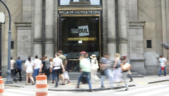 El índice S&P/BVL Perú General cayó un 0.05%. (Foto: GEC)