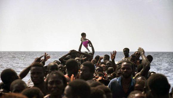 Guardia Costera de Italia brinda datos sobre refugiados rescatados en sus costas. (El País / Referencial)
