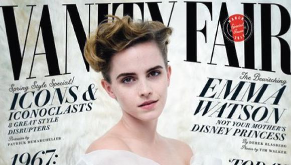 Emma Watson sigue creciendo como actriz. (Vanity Fair)