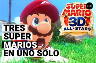 Nintendo: Super Mario 3d All-Stars la colección de tres juegos en uno solo