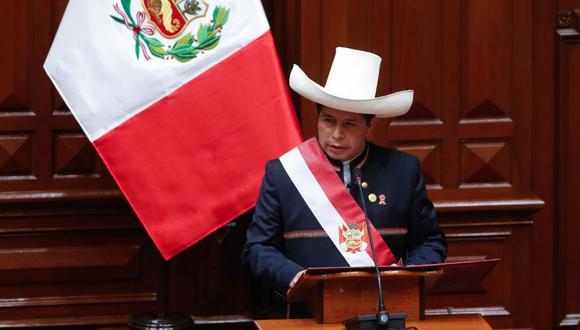 Pedro Castillo anuncia que no gobernará desde Palacio de Gobierno. (Foto: Presidencia)