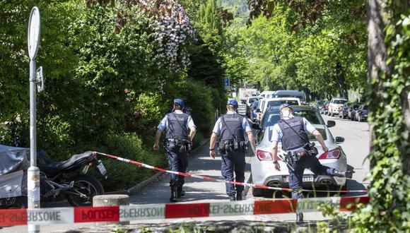 La fuerza de seguridad de Suiza investiga las circunstancias del suceso, que por el momento no han sido esclarecidas. (Foto: AP)