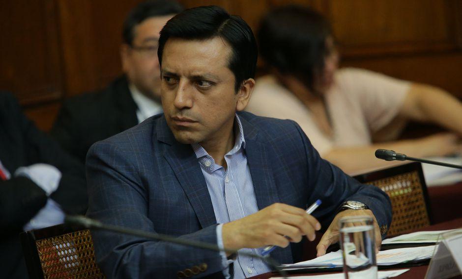 Gilberto Violeta había sido elegido como vocero de Peruanos por el Kambio hasta diciembre del 2018. (FOTO: USI)