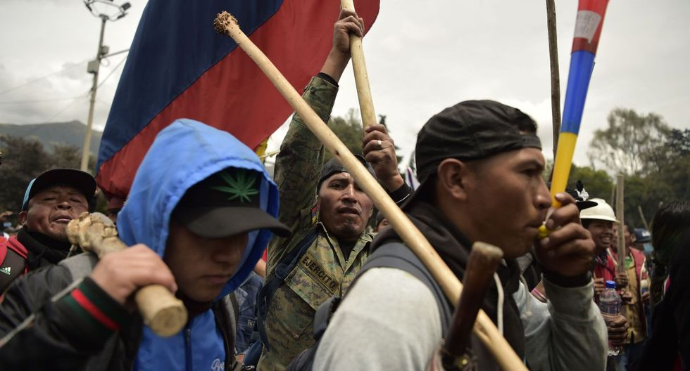 Como en las de la semana pasada, en las protestas de este comienzo de semana también tomaron parte grupos de izquierdas, sindicalistas y jóvenes de distintas afiliaciones políticas de oposición. (Foto: AFP)