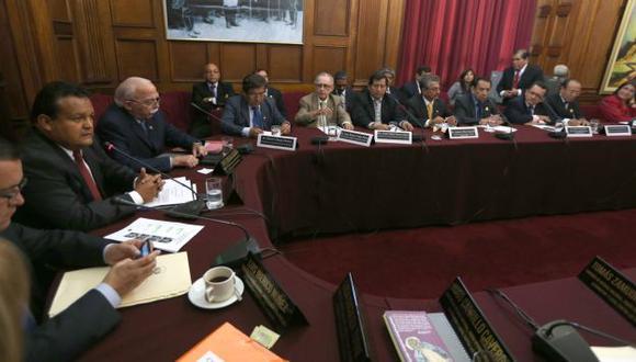 PEDIDO. Rectores de distintas universidades piden apoyo legal y económico para combatir a Sendero. (Martín Pauca)