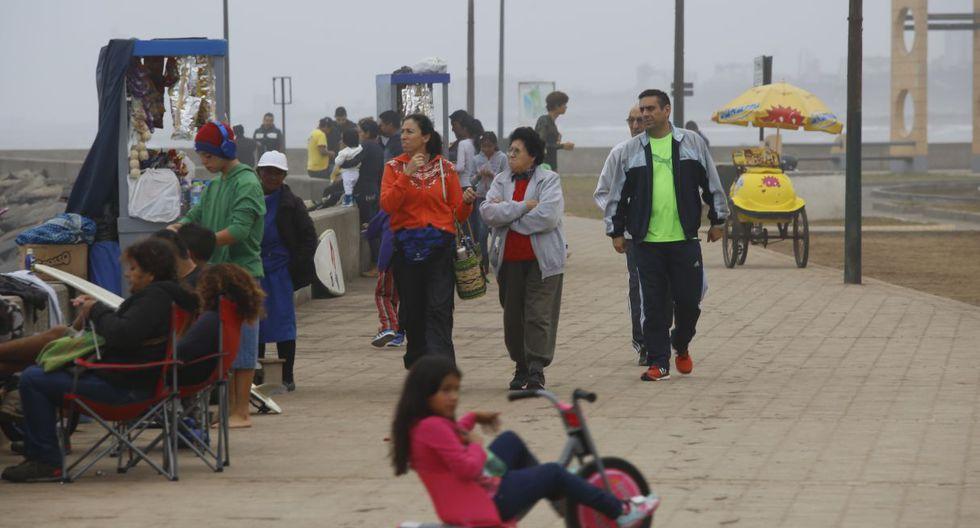 Senamhi recordó que, en los últimos días, Lima ha tenido ingreso de aire frío proveniente del sur, comportamiento que ha generado la presencia de cielo nublado. (GEC)
