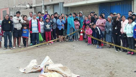 Entre la noche del sábado y la noche del domingo tres personas han sido asesinadas a balazos  en La Libertad. (Foto: GEC)