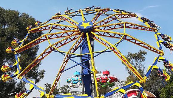 La Feria es un parque de diversiones en Chapultepec visitado por cientos de personas. (Foto: La Feria de Chapultepec)